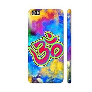 Colorpur Om Be Spiritual On Multicolor Artwork On Xiaomi Mi 5 Cover (Designer Mobile Back Case)   Artist: Sangeetha