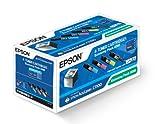 Epson Economy Pack 0268 Cartouche de toner 1 x noir, jaune, cyan, magenta