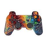 Bunte Blueteeth Tragbare Premium Wireless Gamepad Spielkonsole Spiel Player Spiel Joystick Spiel Controller für PS3 Charge (A)