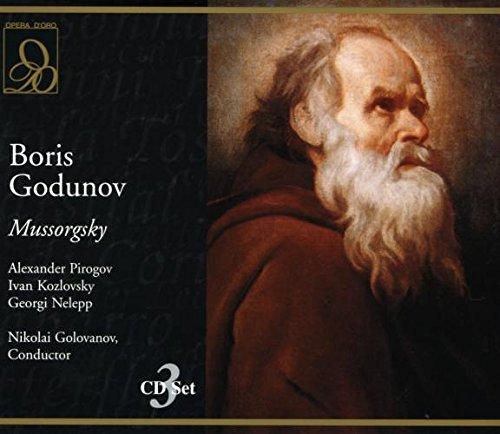 Moussorgski : Boris Godunov. Golovanov, Pirogov, Kozlovsky