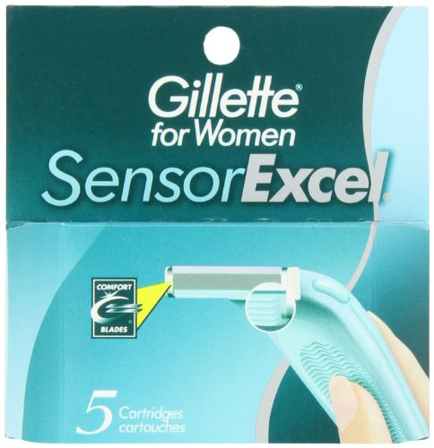 Gillette Sensor Excel Women's Razor Blade Refills, 5 Count  available at amazon for Rs.2310