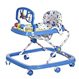 #5: NHR Musical Baby Walker With Play Tray And Hanging Toys(Blue)