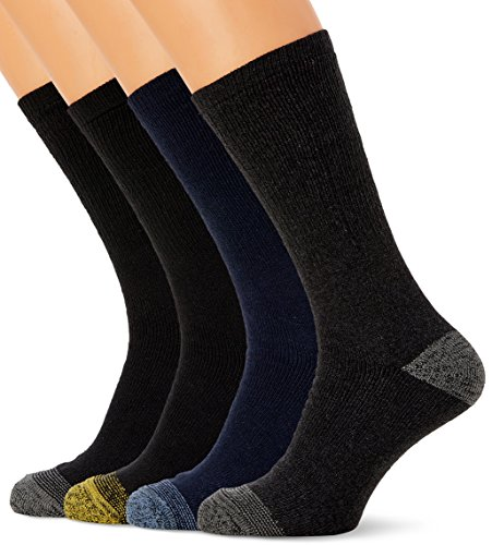 FM London Mens Work Socks (12 Pair Pack) FM® heavy duty, cotton rich work socks with reinforced heel and toe