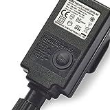 Lights4fun 31V Stecker für Typ U Beleuchtung 8 Programme 3 Pin