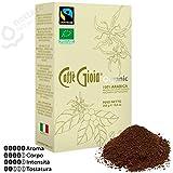 250g Caffè macinato per moka miscela 100% Arabica BIOLOGICA fairtrade Caffè Gioia