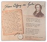 Brillenputztuch Vintage Goethe | Reinigungstuch