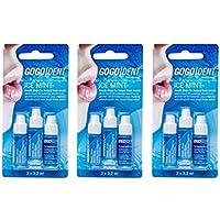 Preisvergleich für 3x GOGO DENT Atem-Liquid Ice Mint 3X3.2ml PZN: 9338605, breath drops Instand fresh