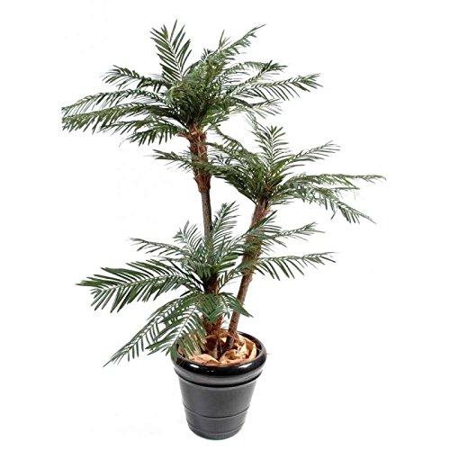 arbuste artificiel palmier 3 troncs new tf - h : 160