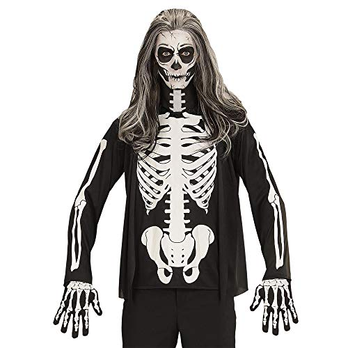WIDMANN?Camiseta Esqueleto Mens, XL, vd-wdm07402