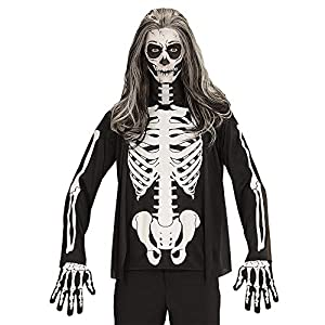 WIDMANN Camiseta Esqueleto Mens, M/L, vd-wdm07401