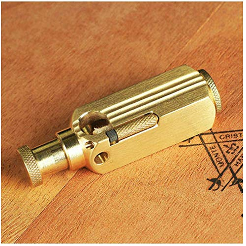 ZITOOP Encendedores-Windproof Copper Lighter Cool Useful Winterproof-Vintage Trench Lighter Pure Copper Creative Brass Cigarette Lighter for Collection Decorative Gift