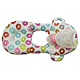 #6: Motherly Multi-Function Baby Pillow Cum Breastfeeding Pillow 100% Cotton Size 45x27x5CM Suitabel for 0-24 Months Baby (Donut)