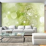murando - Fototapete 300x210 cm - Vlies Tapete - Moderne Wanddeko - Design Tapete - Wandtapete - Wand Dekoration - Blumen Pusteblume b-C-0111-a-d