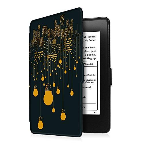 Fintie Kindle Paperwhite Hülle - Die dünnste und leichteste Smartshell Case Schutzhülle Tasche mit auto Sleep / Wake für den neuen Kindle Paperwhite 2016 (mit 300 ppi-Display, 6 Zoll, und integrierter Z -Glühbirne
