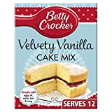 Betty Crocker Velvety Vanilla Cake Mix 425g
