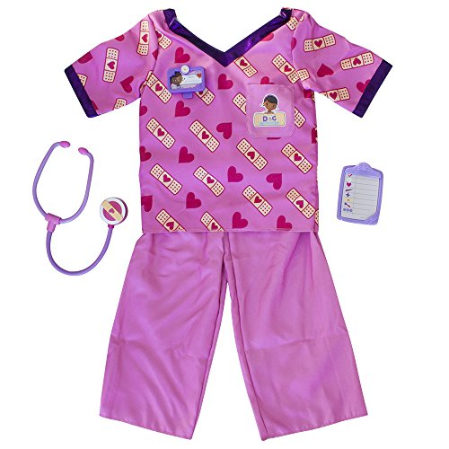 Chilly Doc Mcstuffins Kostüm - Doc McStuffins Arzt Kittel Set