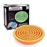 Magic Ball Toy,Mamum Interesting Labyrinth Magic Intellect Ball Balance Maze Perplexus Puzzle Toy (Red)