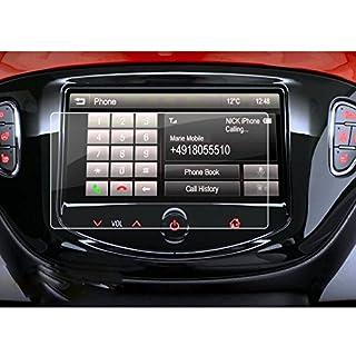 LFOTPP Opel Adam/Adam S/Adam Rocks/Adam Rocks S 7 Zoll Navigation Schutzfolie - 9H Kratzfest Anti-Fingerprint Panzerglas Displayschutzfolie GPS Navi Folie