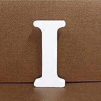 Gspirit Decorativo De Madera Letras, Pared Letras 26 Letras Madera Alfabeto para Niños Bebé Nombre Cumpleaños Fiesta Boda Casa Decoración (I)