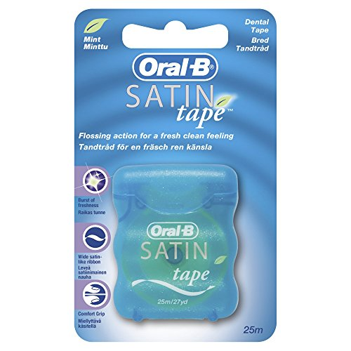 Oral-B Satin Floss Seda Dental Menta - 25 m