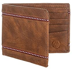 MarkQues Stark Tan Leather Mens Wallet (STK-4404)
