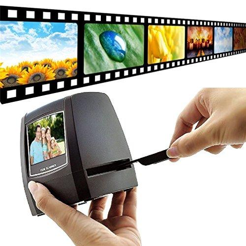 DIGITNOW! 5M / 10M Stand alone 2,4 '' LCD-Display Film / Dia Scanner 1800DPI hohe Auflösung Bildscanner in USB2.0-Schnittstelle Konvertieren in PC (35mm Film Scanner)