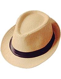 Demarkt Herrn Sonnenhut Herr bristische Jazz Hut Sommerhut Herrn Sonnenschutz Hut für Herr Reise Urlaub