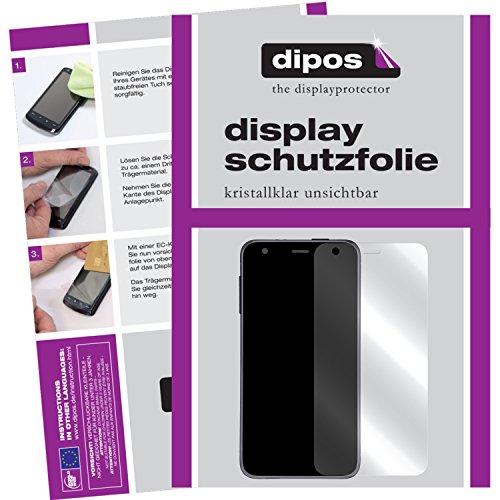 dipos I 6X Schutzfolie klar passend für Pebble Time Ro& Folie Bildschirmschutzfolie