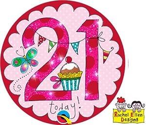 Rachel Ellen- Insignia de fiesta, Color rosa (25826)