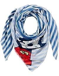 CODELLO Damen Schal 81034815, Blau (Navy Blue 02), One Size
