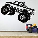 adesivo murale bambini Adesivo per auto 4x4 Suv Decalcomania per veicoli Auto classiche Poster Quadro per soggiorno camera da letto per ragazzi