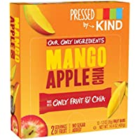 Kind Bar - Presiona la barra de frutas Mango manzana Chia - 12 Bares