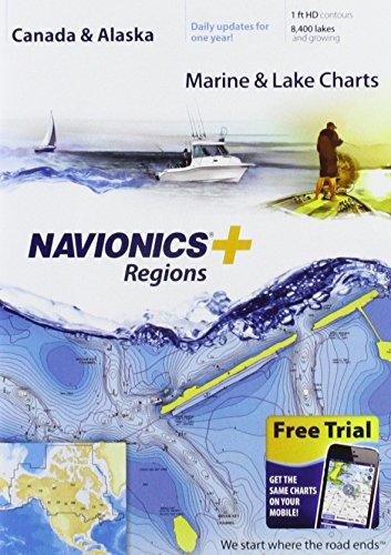 Navionics US Charts, CF-Karte, Nautische Karte auf Compact Flash Karte - CF/NAV+NI -