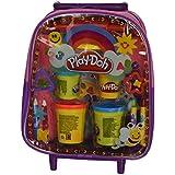 Play-doh mochila con plastilina y accesorios