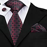 Hi-Tie Cravate - Homme - Rouge -