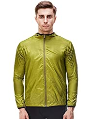 Vansydical 2017 Sports d'extérieur pour hommes Vêtement rapide Vêtements Chaussures Softshell Protection solaire Escalade extérieure Multi-Functional Ultra-Thin Windbreaker