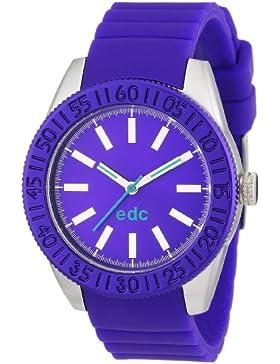 edc by Esprit Damen-Armbanduhr vanity wheel Analog Quarz Plastik A.EE101042003