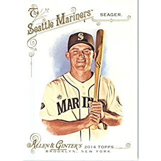 2014 Topps Allen & Ginter Baseball Card # 289 Kyle Seager, Seattle Mariners