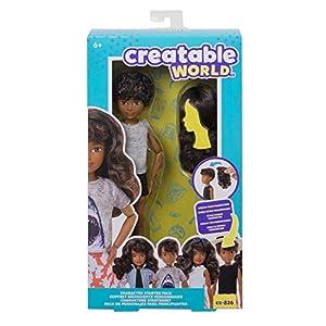 Creatable World pack de personajes, cabello ondulado juguete para niños y niñas +6 años (Mattel GKV45)
