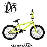 Diamondback Option 20 Inch Wheel Childrens BMX Bike In Yellow - 10 Inch Frame NEW 2017 Model