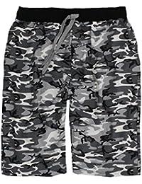LV 2019 Camouflage Herren Übergröße Lavecchia Bermuda Gr. 3-8 XL