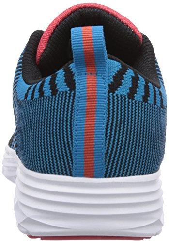 Kappa  FENIX Footwear unisex, Sneakers basses mixte adulte Turquoise - Türkis (6629 tuerkis/coral)