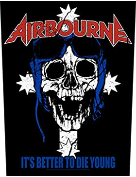 AIRBOURNE IT'S BETTER TO DIE YOUNG Backpatch