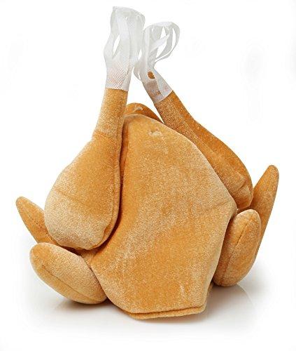 Christmas Turkey Hat - Brown (Snowboarder Kostüm)