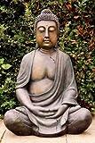 Buddha 100 cm, Kunstharz, auch für Außenbereich