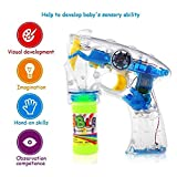 MWT TOYZ Electronic Bubble Gun | Bubble Making Toy Gun with Lights