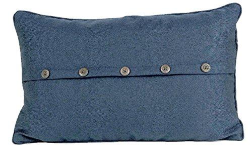 Nielsen Kissenbezug Kalare, 30x50 cm, Bering Sea (blau) (Dekorative Kissenbezug Blau)
