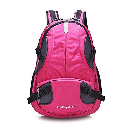 45L Sporttasche Rucksack Solide Nylon Sporttasche Camping Wandern Taschen Reisen im Freien Wanderrucksack für Männer Frauen 2