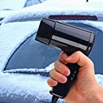 Starmood 12V Hot & Cold Travel Car Folding Camping Hair Dryer Window Defroster 14