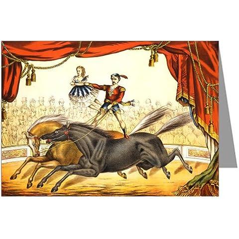 6gru § carte un circo Poster in